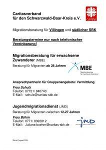 Caritas Migrationsberatung